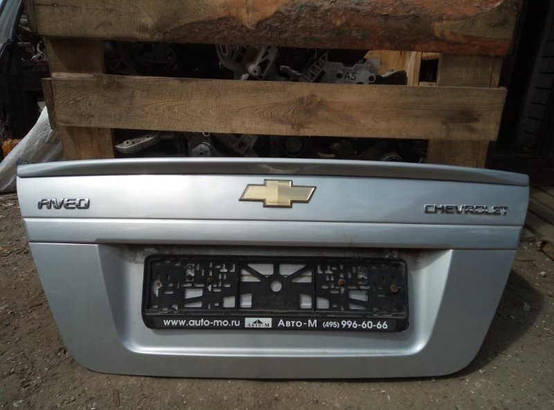 Крышка багажника Chevrolet Aveo T 250 B12D1 2009 (б/у)