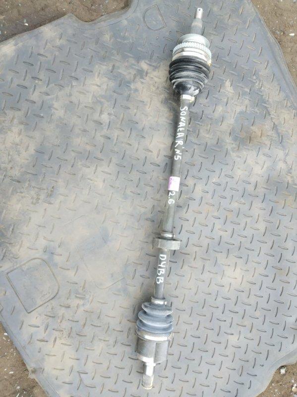 Привод Hyundai Sonata D4BB передний правый (б/у)