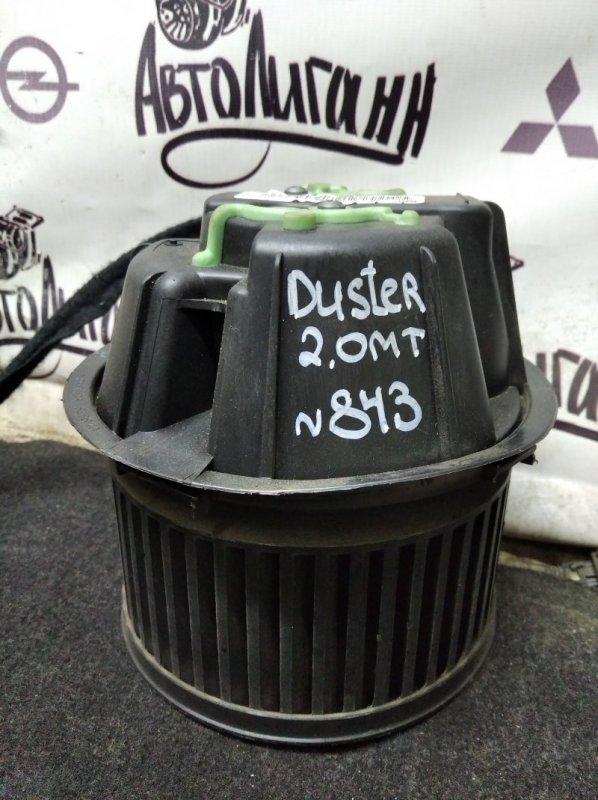 Моторчик печки Renault Duster F4RA400 2012 (б/у)
