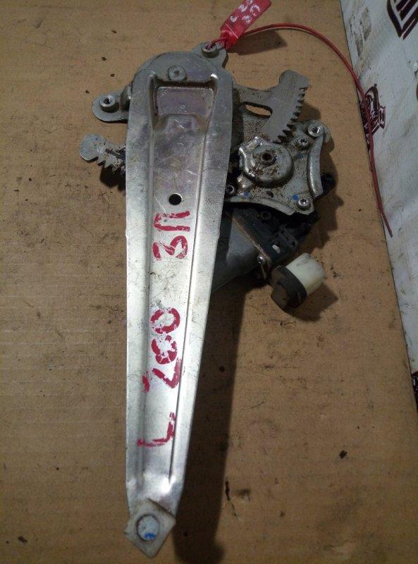 Стеклоподъемник Mitsubishi L 200 задний правый (б/у)