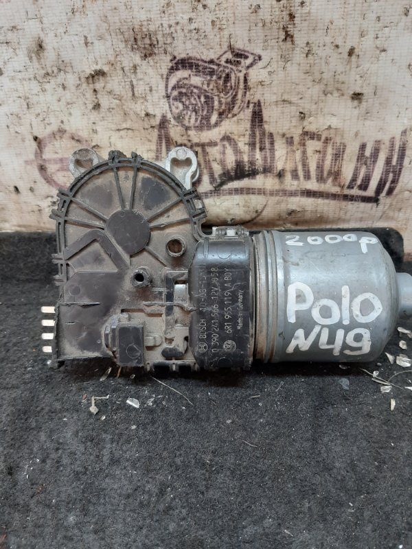 Мотор дворников Volkswagen Polo передний (б/у)