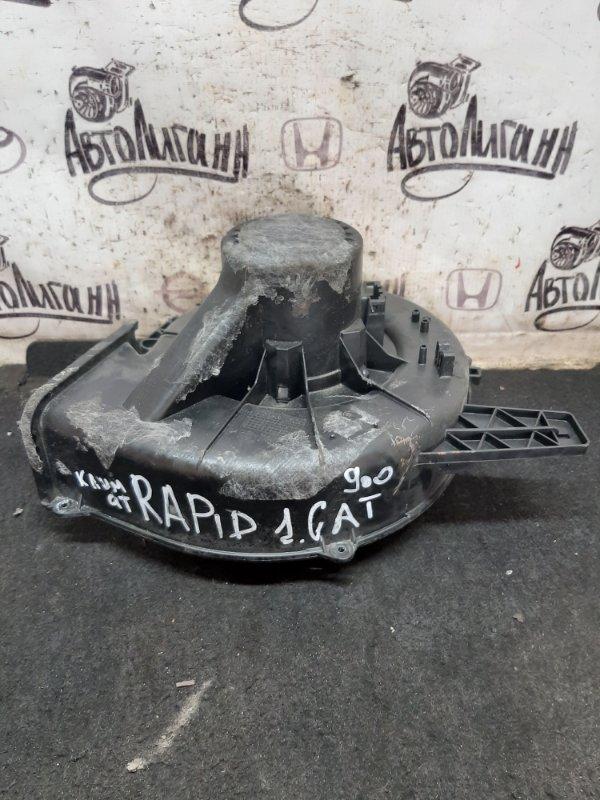 Моторчик печки Skoda Rapid CFN 2014 (б/у)