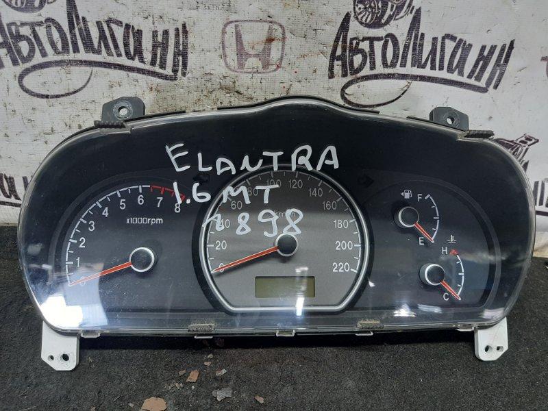 Щиток приборов Hyundai Elantra G4FC 2008 (б/у)
