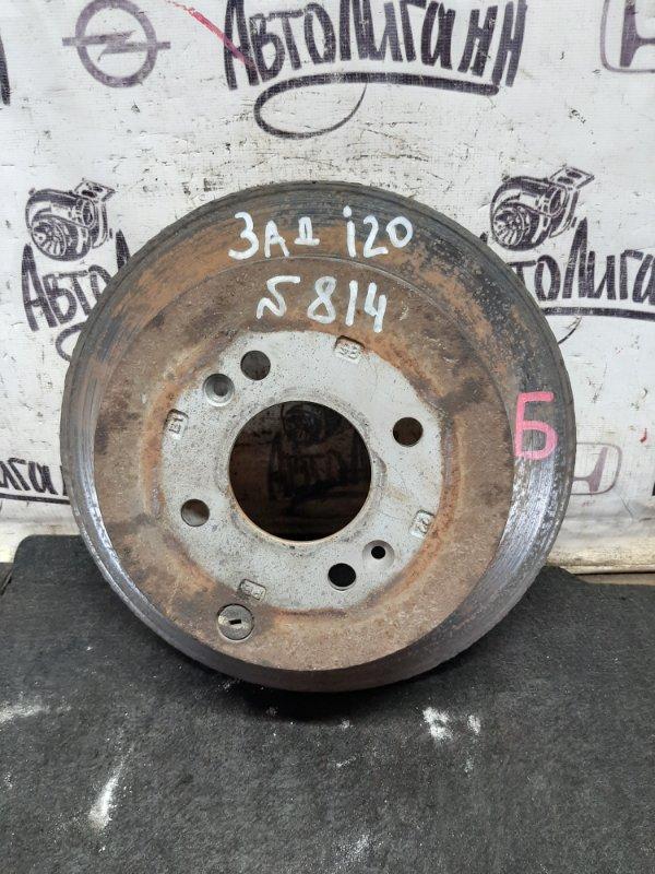 Тормозной диск Hyundai I20 G4FA 2009 задний (б/у)