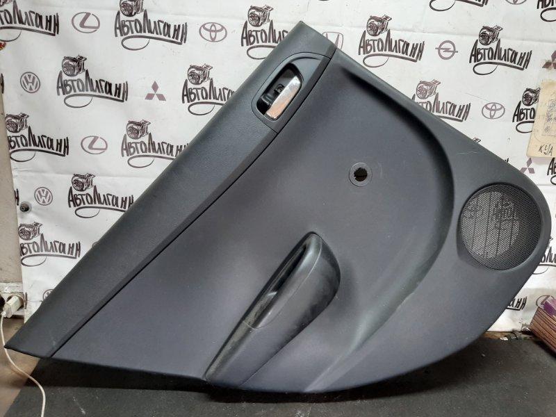 Обшивка двери Hyundai I20 G4FA 2009 задняя левая (б/у)