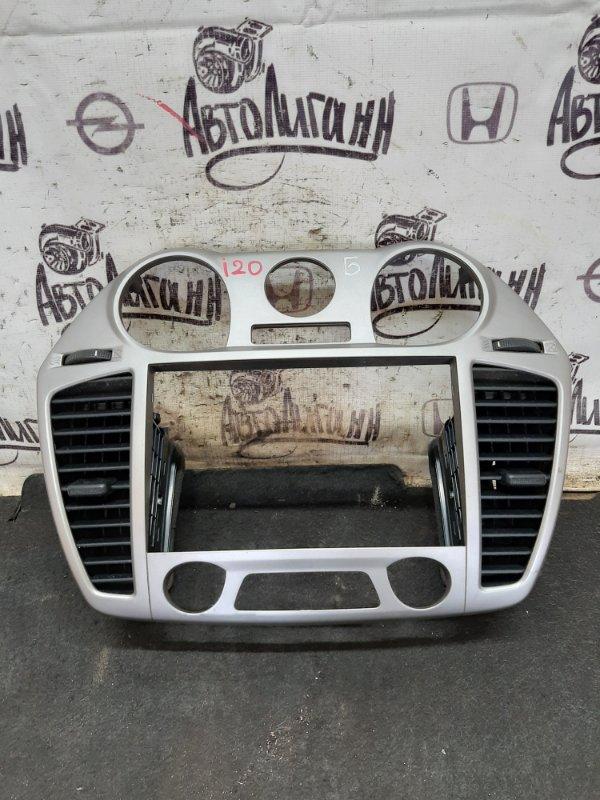 Рамка магнитолы Hyundai I20 G4FA 2009 (б/у)