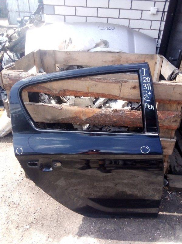 Дверь Hyundai I20 G4FA 2009 задняя правая (б/у)