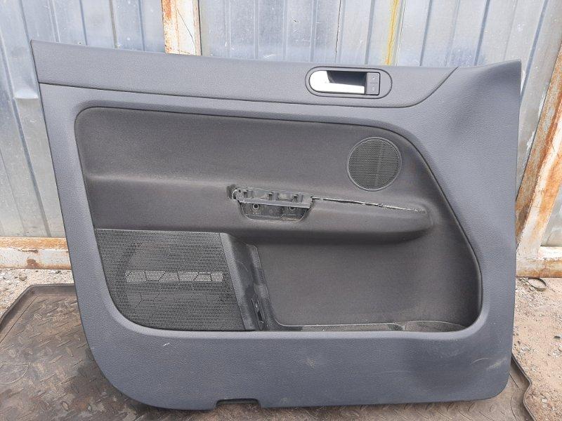 Обшивка двери Volkswagen Golf Plus CBZ 2013 передняя левая (б/у)