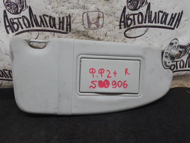 Козырек солнцезащитный Ford Focus 2 Plus УНИВЕРСАЛ SHDA 2009 передний правый (б/у)