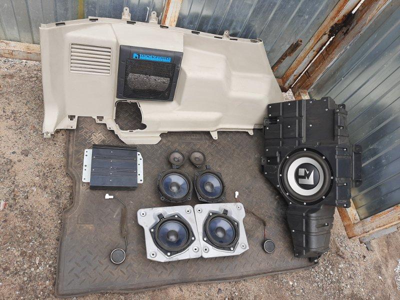 Аудио система Mitsubishi Pajero 4 6G74 2012 (б/у)