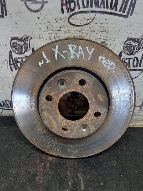 Тормозной диск Lada Xray 2019 передний (б/у)