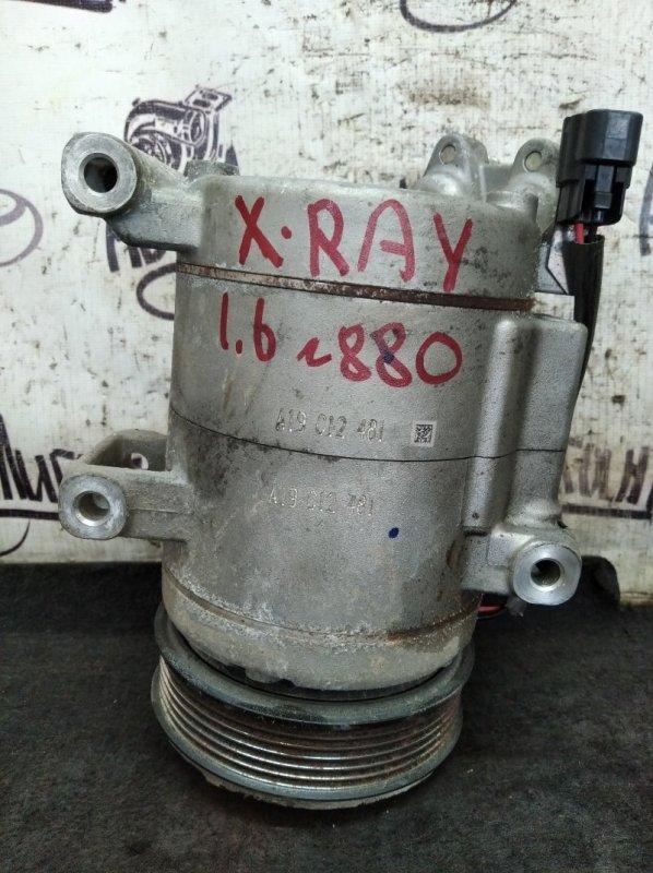 Компрессор кондиционера Lada Xray 2019 (б/у)