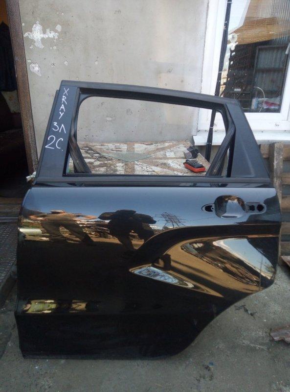 Дверь Lada Xray 2019 задняя левая (б/у)