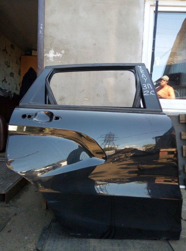 Дверь Lada Xray 2019 задняя правая (б/у)