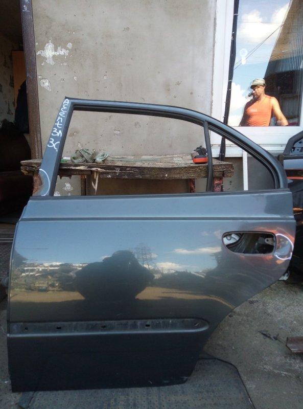 Дверь Hyundai Accent G4EC 2008 задняя левая (б/у)
