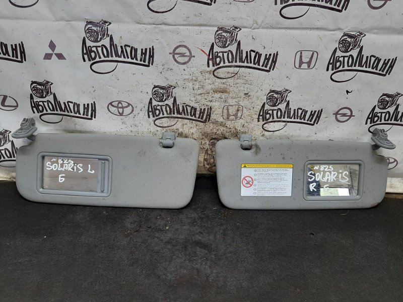 Козырек солнцезащитный Hyundai Solaris СЕДАН G4FC 2012 (б/у)
