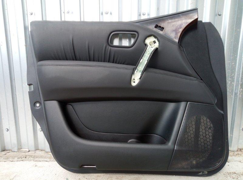 Обшивка двери Infinity Qx80 передняя левая (б/у)