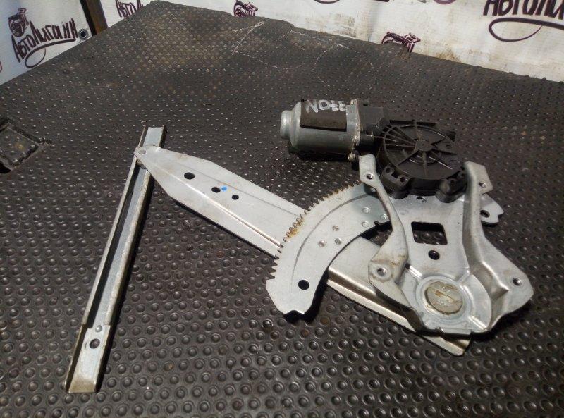 Стеклоподъемник Nissan Note задний правый (б/у)