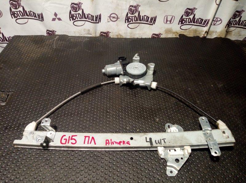 Стеклоподъемник Nissan Almera G15 передний левый (б/у)