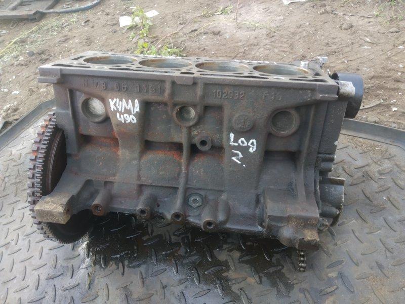 Блок цилиндров Renault Logan 2 1.6 (б/у)