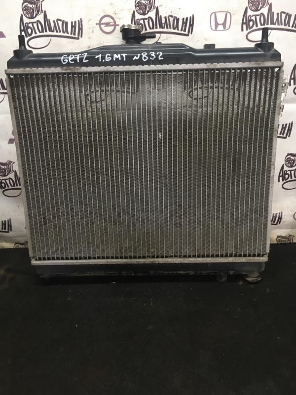 Радиатор охлаждения Hyundai Getz G4ED 2007 (б/у)
