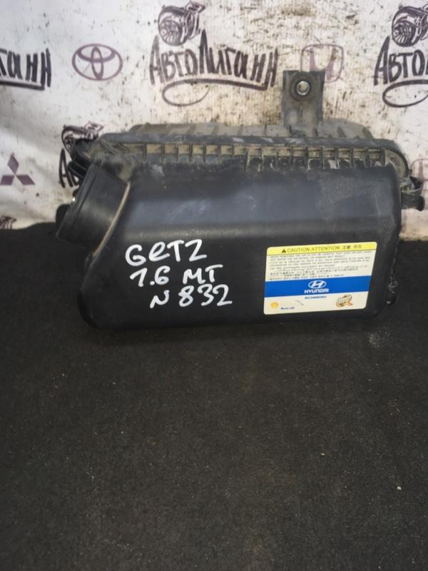 Корпус воздушного фильтра Hyundai Getz G4ED 2007 (б/у)