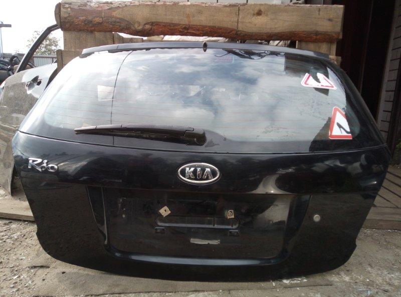Крышка багажника Kia Rio 2 ХЭТЧБЕК G4EE 2010 (б/у)