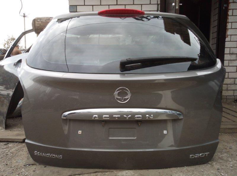 Крышка багажника Ssang Yong Actyon New D20DTF 2011 (б/у)