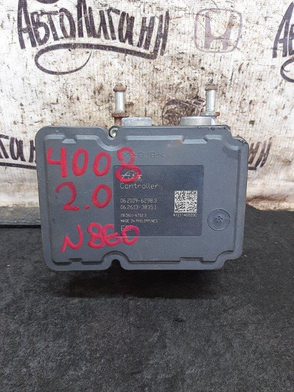 Блок abs Peugeot 4008 4B11 2012 (б/у)
