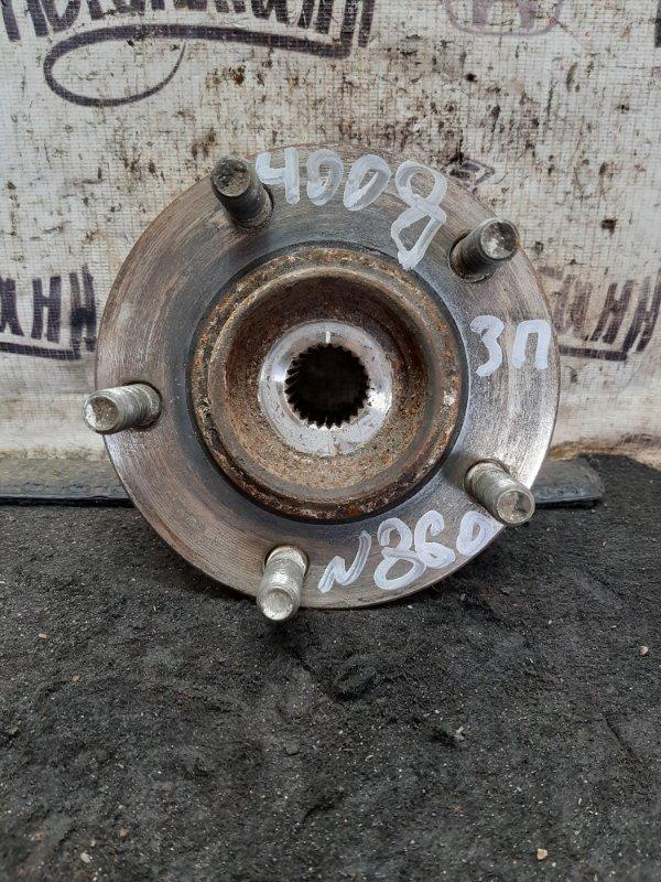 Ступица Peugeot 4008 4B11 2012 задняя правая (б/у)