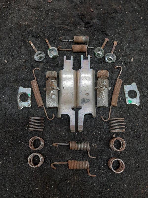 Механизм ручного тормоза Peugeot 4008 4B11 2012 (б/у)