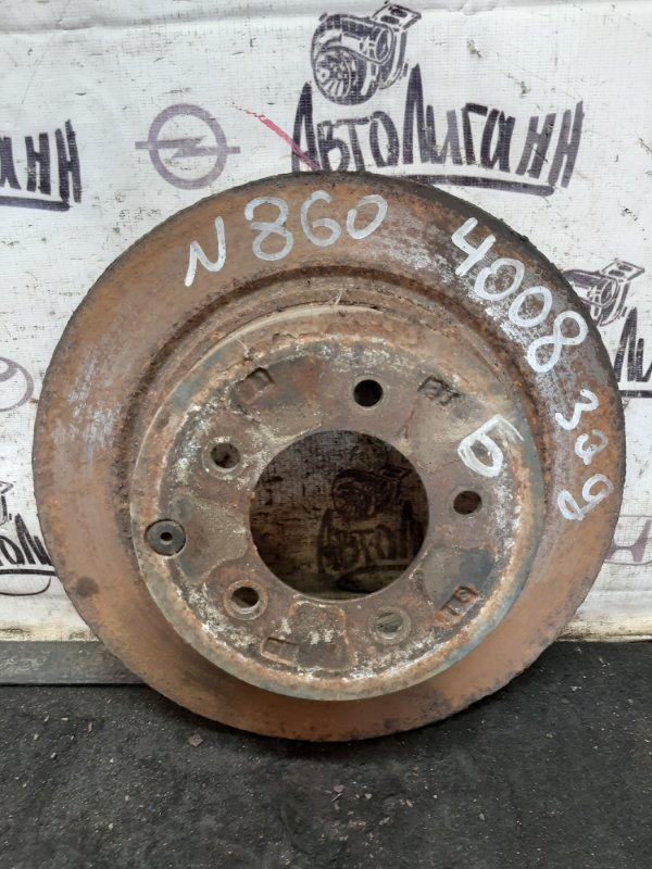 Тормозной диск Peugeot 4008 4B11 2012 (б/у)