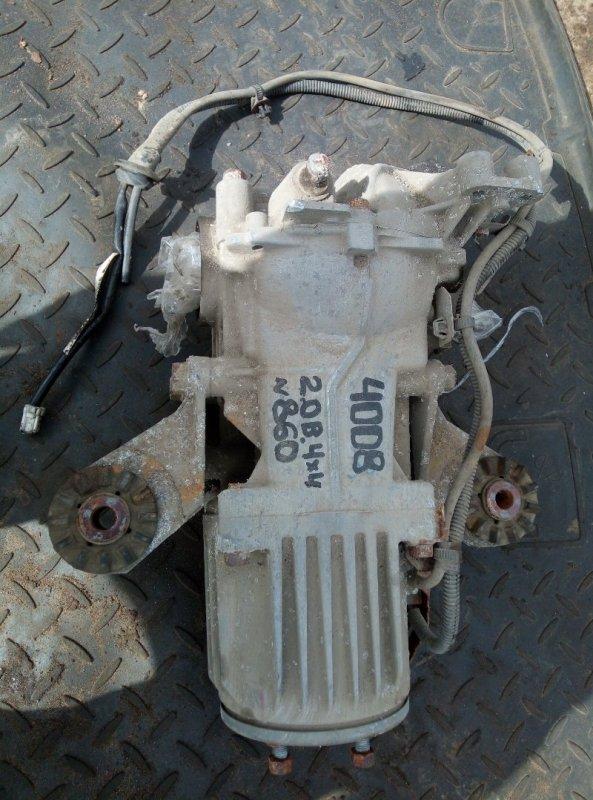 Редуктор Peugeot 4008 4B11 2012 задний (б/у)