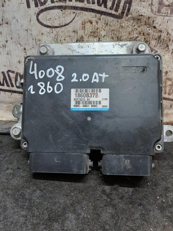 Блок управления двигателем Peugeot 4008 4B11 2012 (б/у)