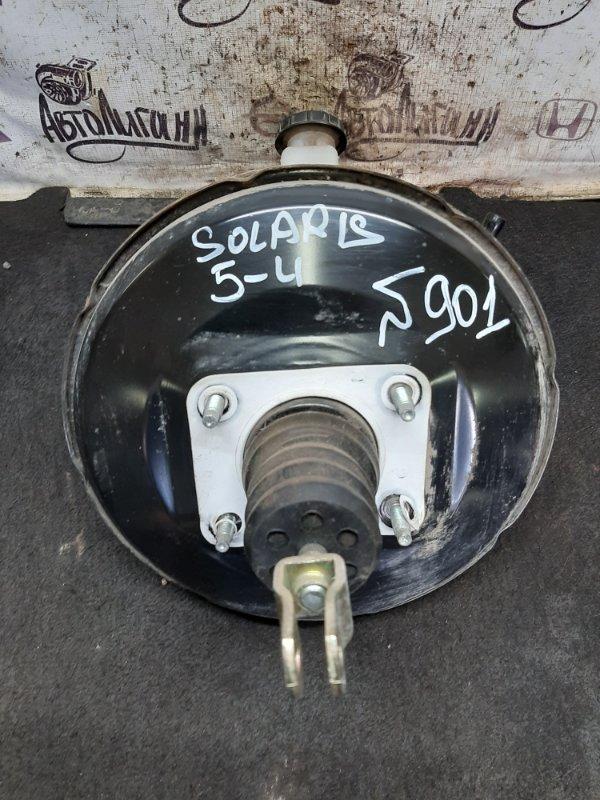 Вакуумный усилитель тормозов (вут) Hyundai Solaris ХЭТЧБЕК G4FC 2012 (б/у)