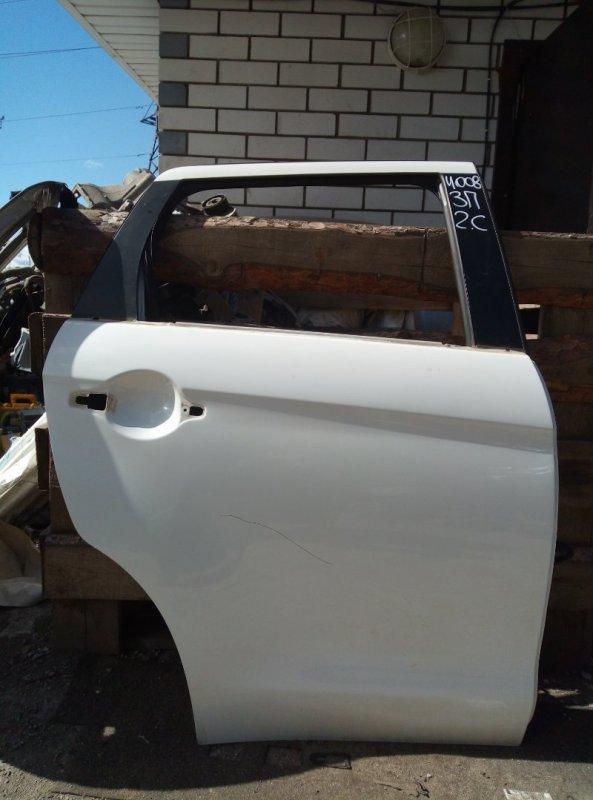 Дверь Peugeot 4008 4B11 2012 задняя правая (б/у)