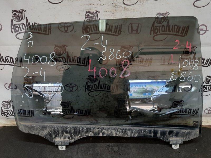 Стекло Peugeot 4008 4B11 2012 заднее правое (б/у)