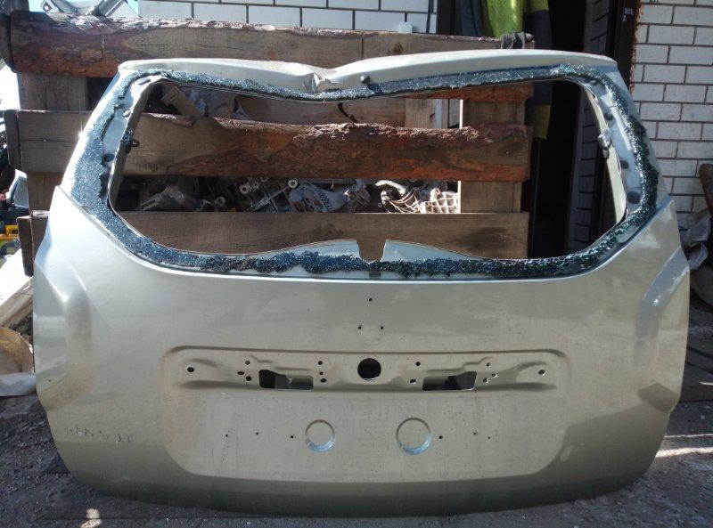 Крышка багажника Renault Duster K4MA690 2013 (б/у)