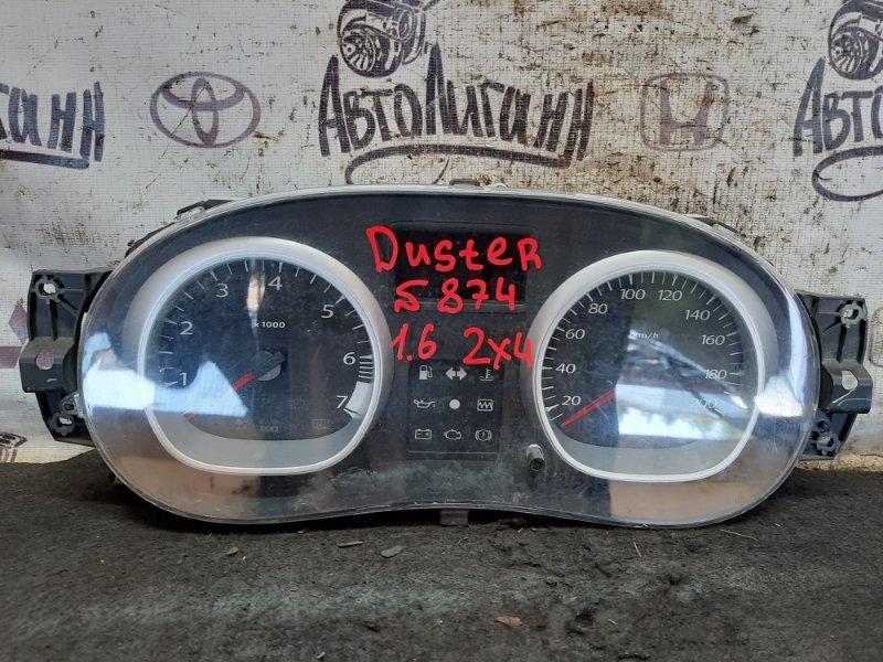 Щиток приборов Renault Duster K4MA690 2014 (б/у)
