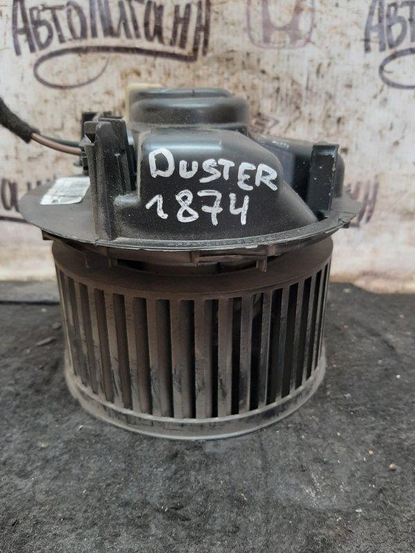 Моторчик печки Renault Duster K4MA690 2014 (б/у)