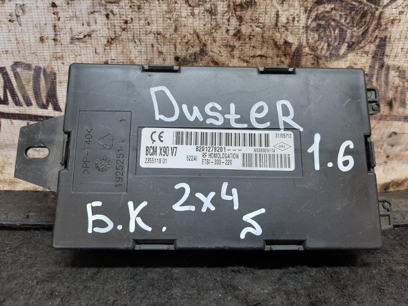Блок комфорта Renault Duster K4MA606 2013 (б/у)
