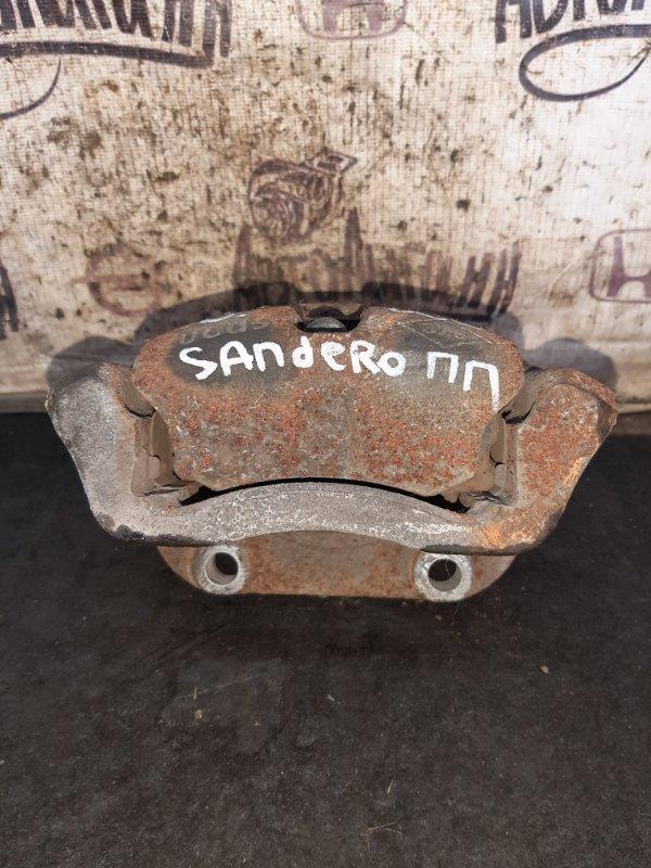Суппорт Renault Sandero K7MF710 2011 передний правый (б/у)