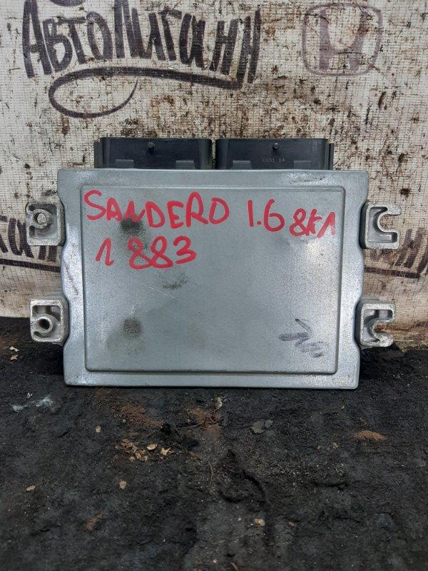 Блок управления двигателем Renault Sandero K7MF710 2011 (б/у)
