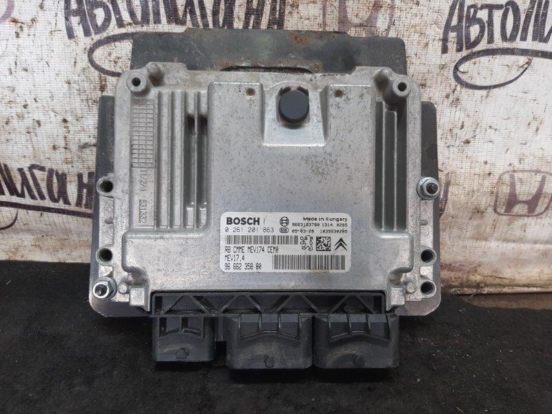 Блок управления двигателем Peugeot 308 EP6 2009 (б/у)