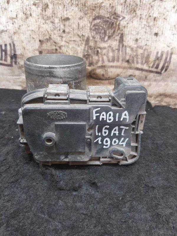 Дросельная заслонка Skoda Fabia CFN 2011 (б/у)