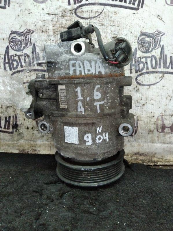 Компрессор кондиционера Skoda Fabia CFN 2011 (б/у)