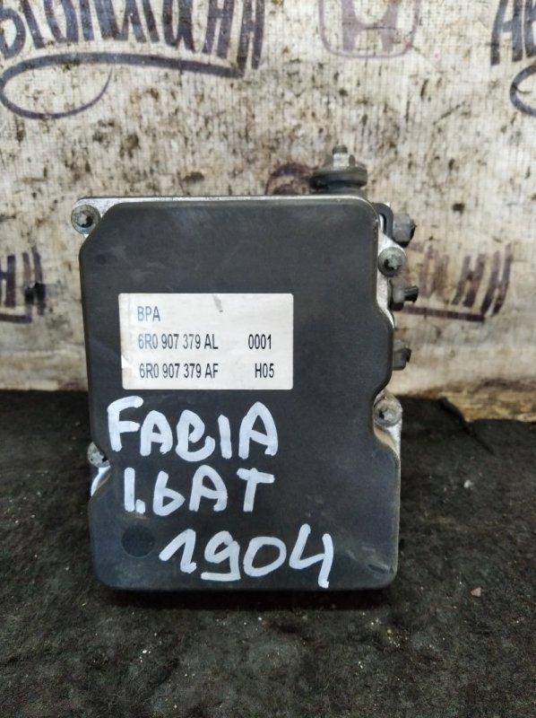 Блок abs Skoda Fabia CFN 2011 (б/у)