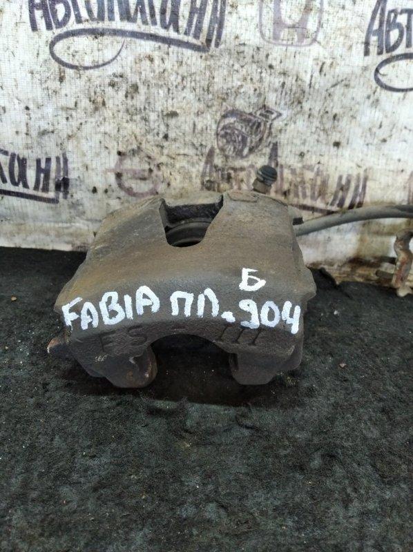 Суппорт Skoda Fabia CFN 2011 передний левый (б/у)