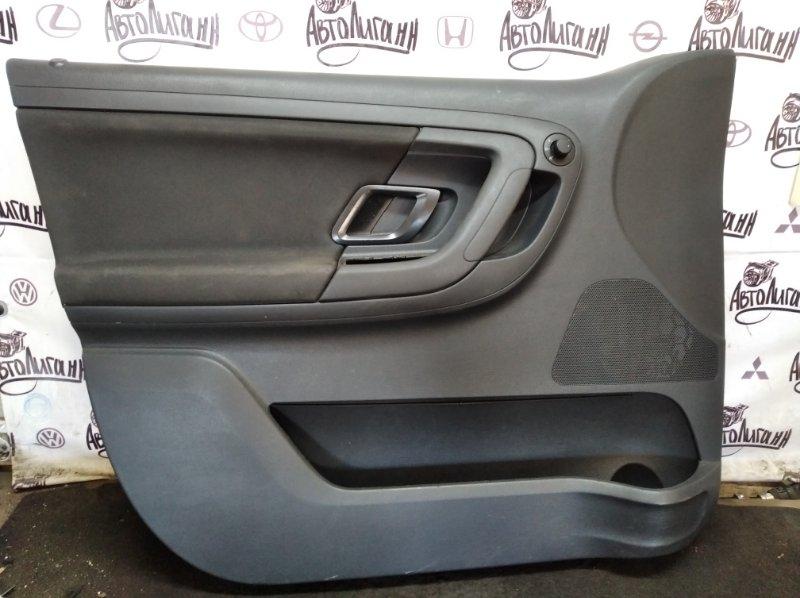Обшивка двери Skoda Fabia CFN 2011 передняя левая (б/у)