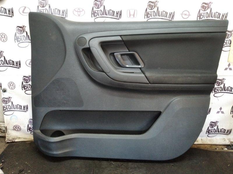 Обшивка двери Skoda Fabia CFN 2011 передняя правая (б/у)